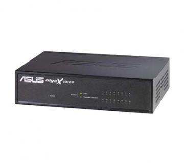 Asus GigaX 1016D Desktop Switch 16x10/100Mbps