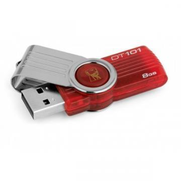 Kingston DataTraveler 101 8GB USB 2.0 Hi-Speed Pink