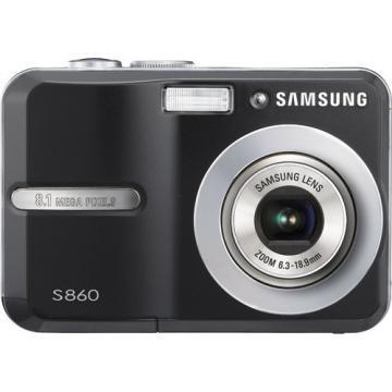 Samsung S860 Digital Photo Camera (Black)