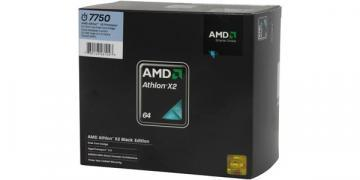 AMD Athlon X2 Dual Core 7750 Black Edition, Socket AM2+, 95W, 65nm, BOX
