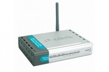 D-Link AirPlusG Wireless G Router 4xLAN