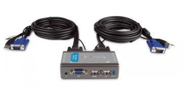 D-Link KVM PS/2 Switch 2xPC