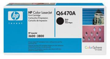 HP Color LaserJet Q6470A Black Print Cartridge