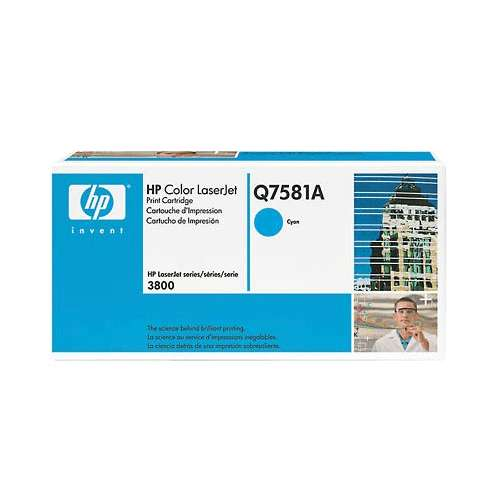 HP Color Laserjet 3800 Cyan Cartridge