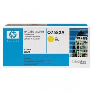 HP Color Laserjet 3800 Yellow Cartridge