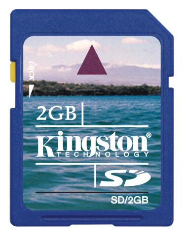 Kingston SecureDigital 2GB