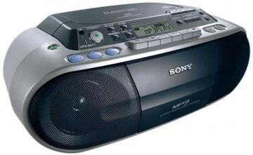 Sony CFD-S03CP CD Radio Cassette with MP3 Playback