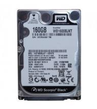 "WD Scorpio Black 2,5"", 1600BJKT, 160 GB, Serial ATA/300, 7200 RPM, 16MB cache"
