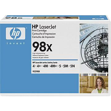 HP LaserJet 92298X Black Print Cartridge