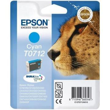 Epson T0712 Cyan Ink Cartridge