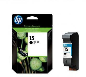 HP 15 Black Inkjet Print Cartridge