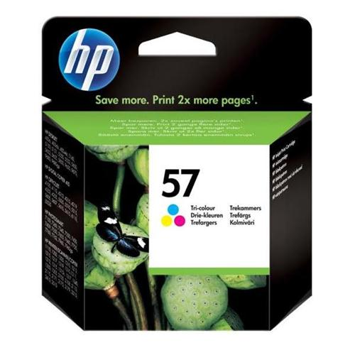 HP 57 Tri-colour Inkjet Print Cartridge