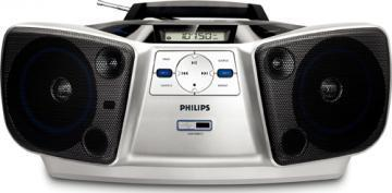 Philips CD Soundmachine AZ1840 MP3 USB digital tuning with Dynamic Bass Boost