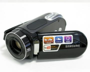 Samsung SMX-F30BP DVD Camcorder with 34x optical zoom