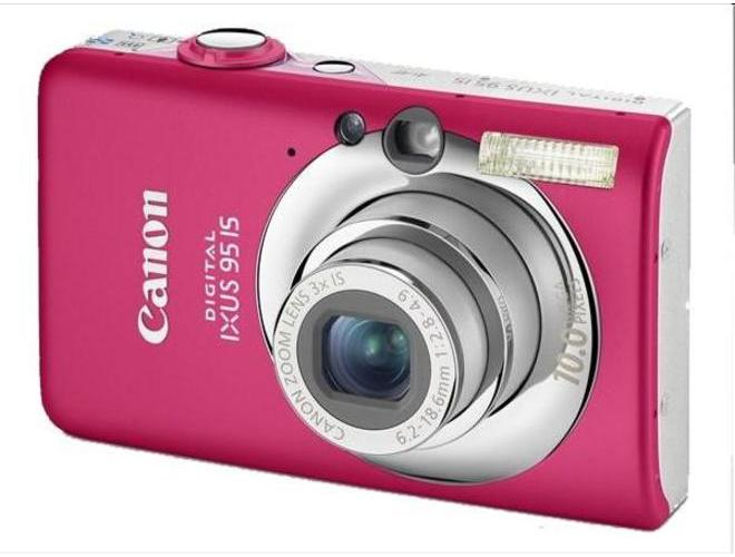 Canon IXUS 95 IS Pink