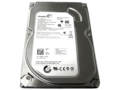 Seagate Barracuda 7200.12; 250GB  SATA/300