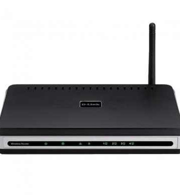 D-Link Wireless 802.11g Open Source Access Point, 2x LAN switch
