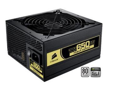 Corsair CMPSU-650TXEU ATX 650W PFC Power Supply, EU version