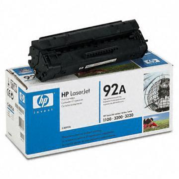 HP Laserjet 92A Black Print Cartridge (C4092A)