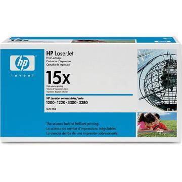 HP LaserJet 15X Black Toner Cartridge