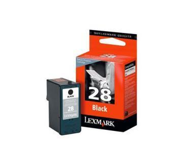 Lexmark 28 Black Ink Cartridge