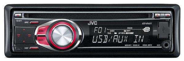JVC KD-R401 CD/MP3/USB Car Stereo