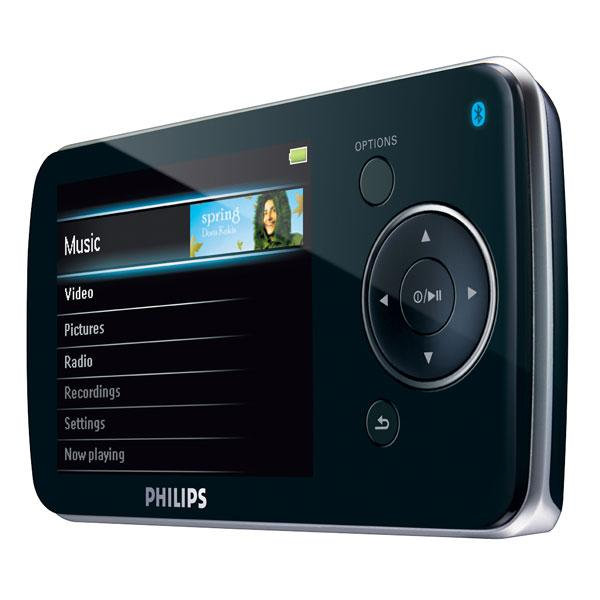 Philips GoGear SA5285BT w/ Bluetooth (8GB) Portable Video