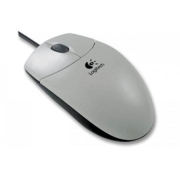 Logitech S96 Optical Wheel Mouse White PS/2