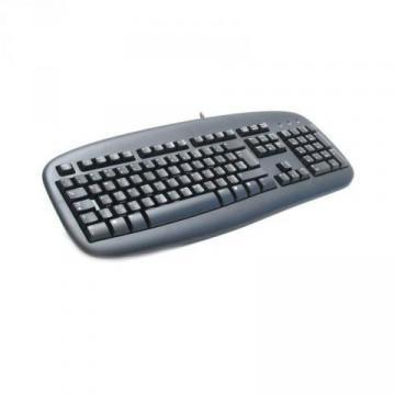 Logitech Black Value Keyboard PS/2
