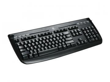Logitech Internet 350 Keyboard Black USB