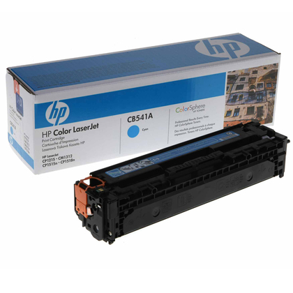 HP Color LaserJet CB541A Cyan Print Cartridge