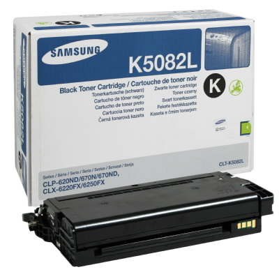 Samsung CLT-K5082L Black Toner Cartridge