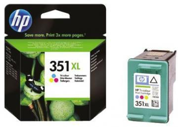HP 351XL tri-colour Vivera Ink Cartridge