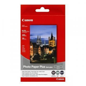 Canon SG201 Photo Paper Plus Semi-glossy 260g 10x15cm 50sh