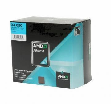 AMD Athlon II X4 630, socket AM3, 2.8 GHz