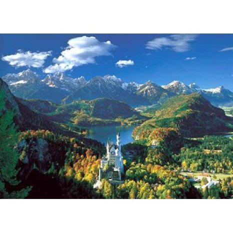 Educa Puzzles - Neushwanstein and Surroundings - 5000 pc