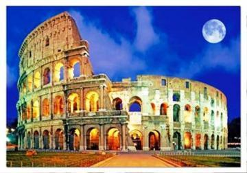 Educa Puzzles - Rome Coliseum in Italy - 500 pc
