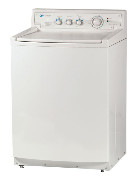 Staber Washer Model HXW2304 (White Cabinet)