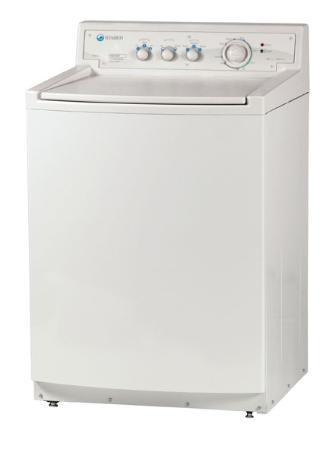 Staber Washer Model HXW2404 (White Cabinet)
