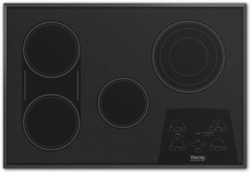 "Viking 30"" Electric Radiant Touch Control Cooktop - DETU"