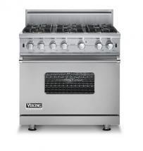 "Viking 36"" Custom Sealed Burner Range - VGCC"