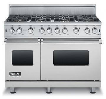 "Viking 48"" Custom Sealed Burner Range - VGCC"