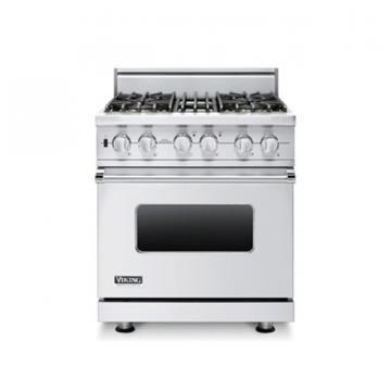 "Viking 30"" Custom Sealed Burner Self-Cleaning Range - VGSC"