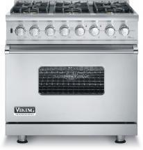 "Viking 36"" Custom Sealed Burner Self-Cleaning Range - VGSC"