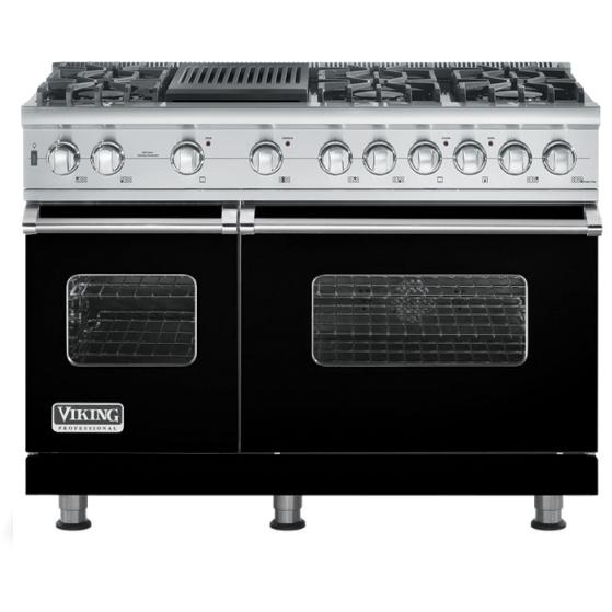 "Viking 48"" Custom Sealed Burner Self-Cleaning Range - VGSC"