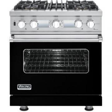 "Viking 30"" Custom Sealed Burner Dual Fuel Electronic Control Range - VDSC"