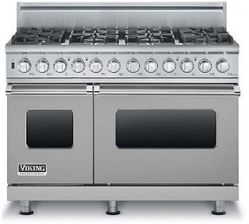 "Viking 48"" Custom Sealed Burner Dual Fuel Range - VDSC"