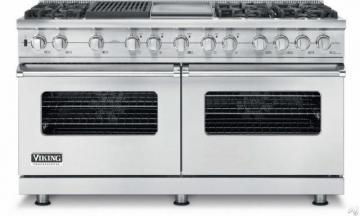 "Viking 60"" Custom Sealed Burner Dual Fuel Range - VDSC"