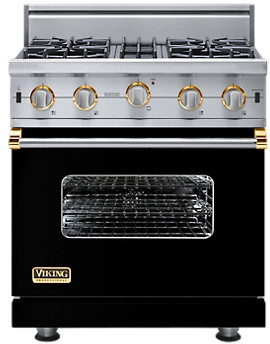 "Viking 30"" Custom Open Burner Range - VGIC"