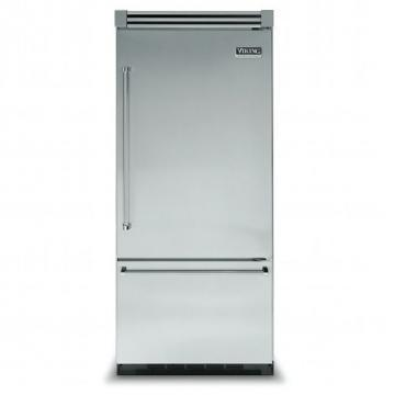 "Viking 36"" Bottom-Mount Refrigerator/Freezer- VCBF"